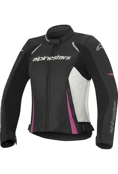 Alpine Stars Stella Devon Leather Jacket Deri Motosiklet Montu