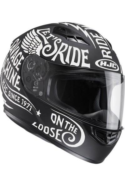 Hjc Cs15 Rebel Full Face Motosiklet Kaskı Mc10F
