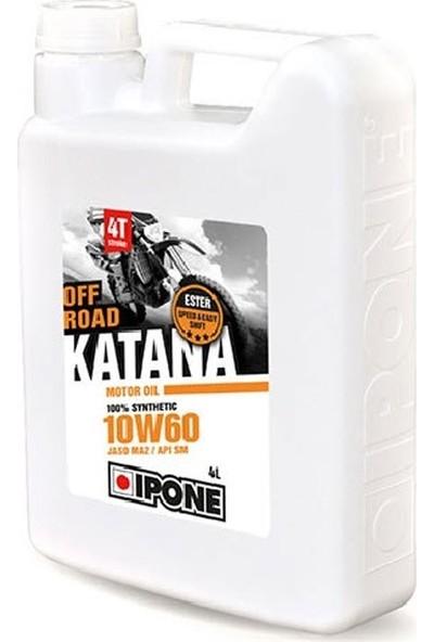 Ipone Katana Off Road 10W60 4T Esterli Yağ 4L