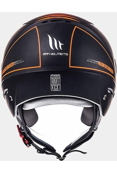 Mt Jet City Eleven Sv Tron Matt Açık Motosiklet Kaskı 10183800