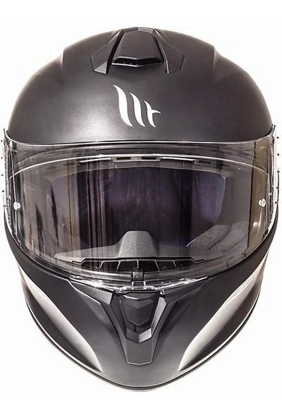 Mt Targo A1 Matt Full Face Motosiklet Kaskı