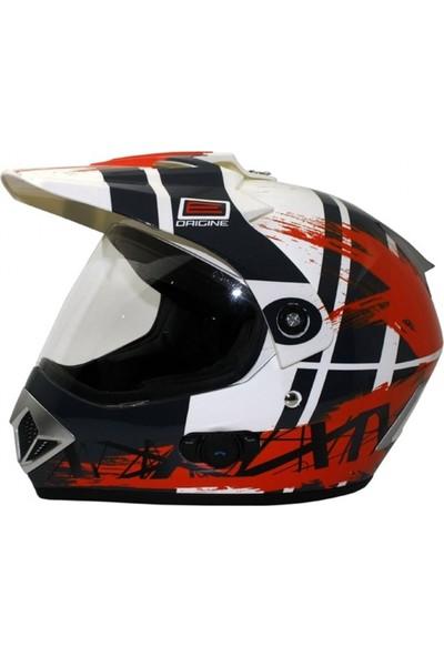 Origine Gladiatore Dakar Con Blinc G2 Cross Motosiklet Kaskı