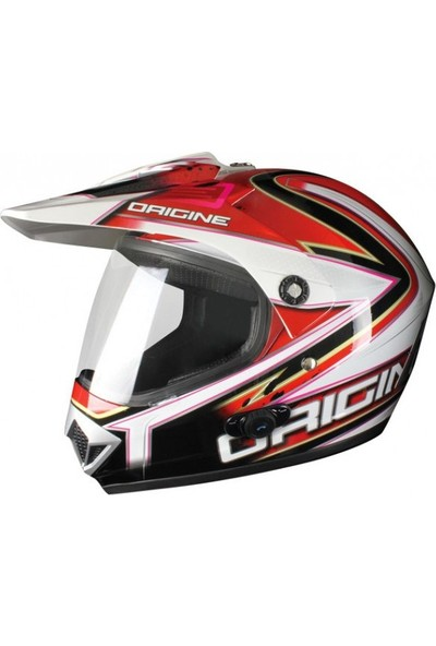 Origine Glaiatore Conquistador Con Blinc Cross Motosiklet Kaskı