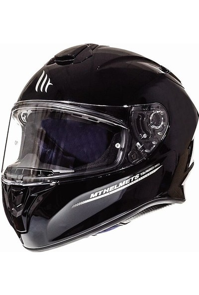 Mt Targo Solid A1 Gloss Full Face Motosiklet Kaskı 1117000011
