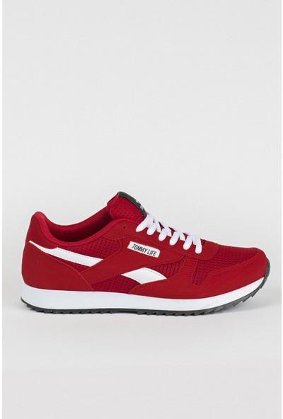 Tommy Life Kırmızı Erkek Spor Ayakkabı