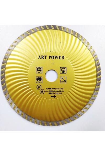 Makroyapı Artpower 180 mm Turbo Elmas Mermer Seramik Kesici Elmas Testere
