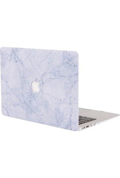 Macstorey MacBook Air A1369 A1466 13 inç Kılıf Sert Kapak Koruyucu Hard ıncase Mermer 07-26-1495