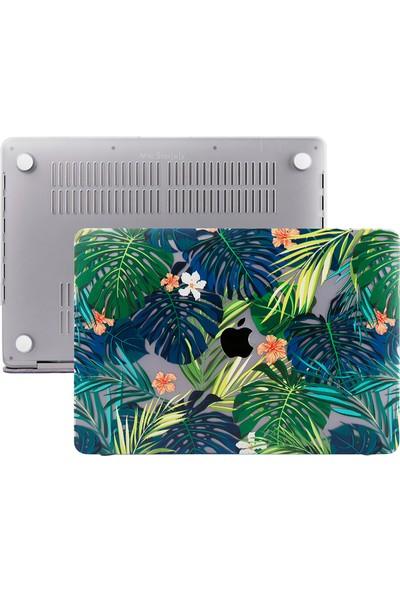 Macstorey MacBook Pro Retina A1502 A1425 13 inç Kılıf Kapak Koruyucu Hard ıncase Flowers 01-58-1630