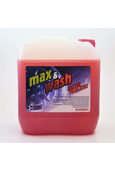 Max&wash Konsantre Lastik Parlatıcı Jel 5 kg