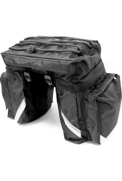 Ksoto Motosiklet Üçlü Heybe Çanta 3 Lü Paket