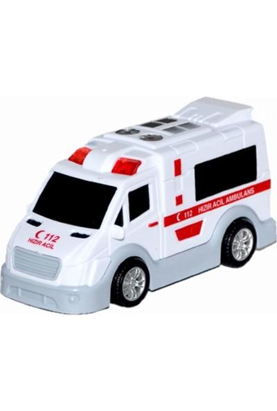 Birlik Sürtmeli Kırılmaz Ambulans