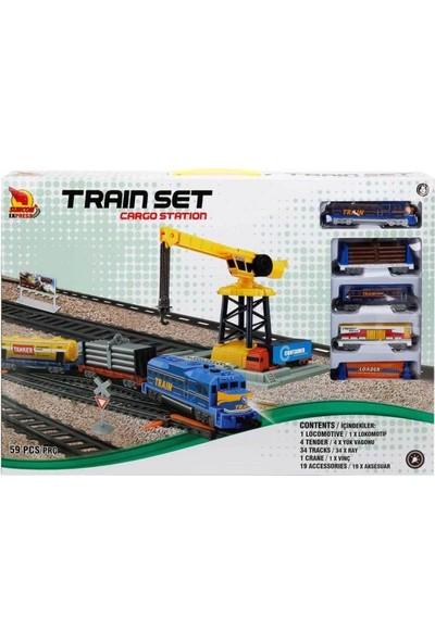 Sunman Cargo Station Tren Seti