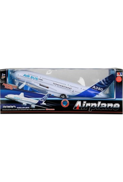 Sunman Airplane Model Airbus Uçak
