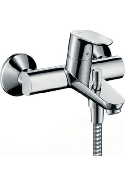 Hansgrohe Focus E2 Tek Kollu Banyo Bataryası Aplike Dn15