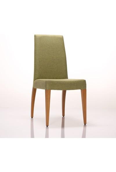 Jeleset Carina Sandalye Yeşil