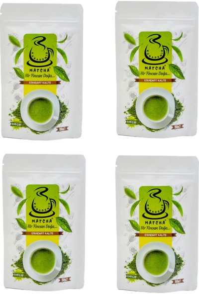 Karadeniz Matcha® (Maça) Çayı Standart Kalite 50g 4 Al 3 Öde