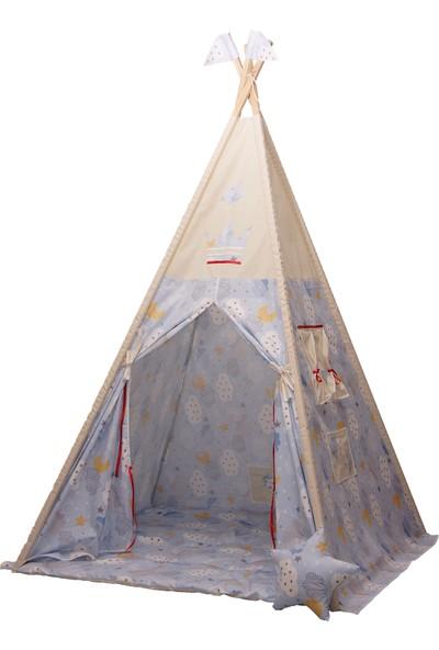 Henna Prime Çocuk Oyun Çadırı Mavi Bulutlu