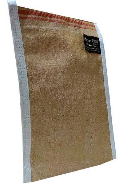 Micro Peel İpek Sırt ve Vücut Kesesi Kahverengi 17X25