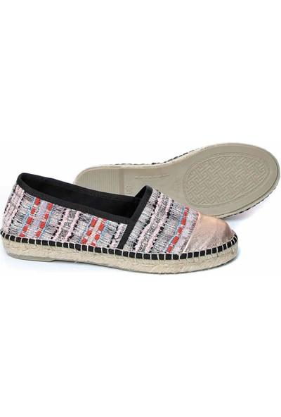 Toni Pons 1Tonw2018014 Renksiz Kadın Espadril Ayakkabı