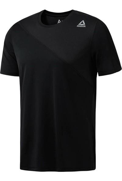 Reebok Wor Tech Top Black Siyah Erkek Kısa Kol T-Shirt