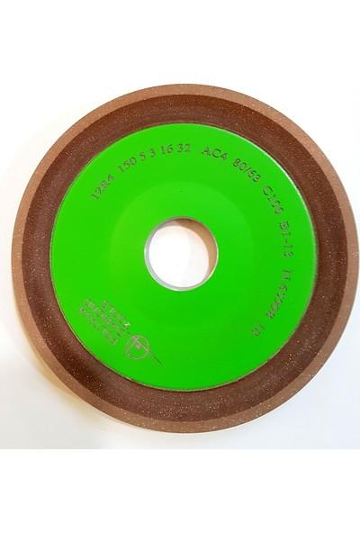 Pultuva Elmas Bi̇leme 100 mm Elmas Testere İçi̇n Si̇vri̇ Deli̇k Çapı 32 mm KUM 80 x 63 mm