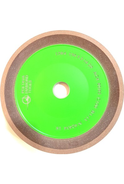 Pultuva Elmas Bi̇leme 12R4 125 mm Elmas Testere İçi̇n Si̇vri̇ Deli̇k Çapı 20 mm KUM 80 x 63 mm
