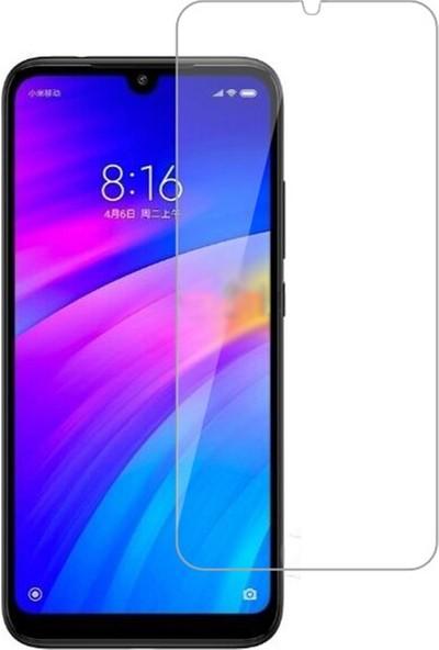 Microcase Xiaomi Redmi 7 Tempered Glass Cam Koruma
