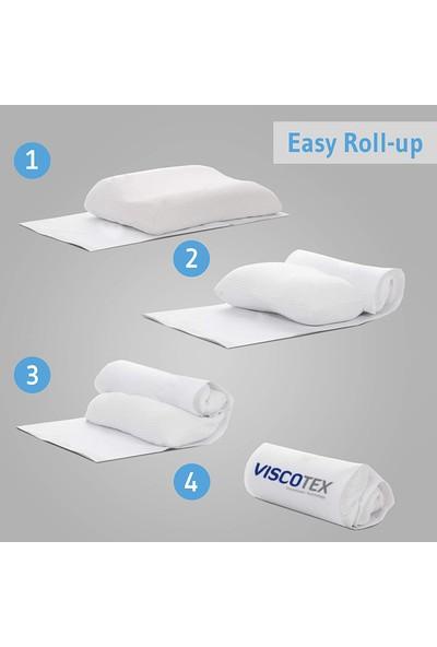 Viscotex Boyun Destekli Yastık / Orthopedic Pillow 60x40x10/8 cm