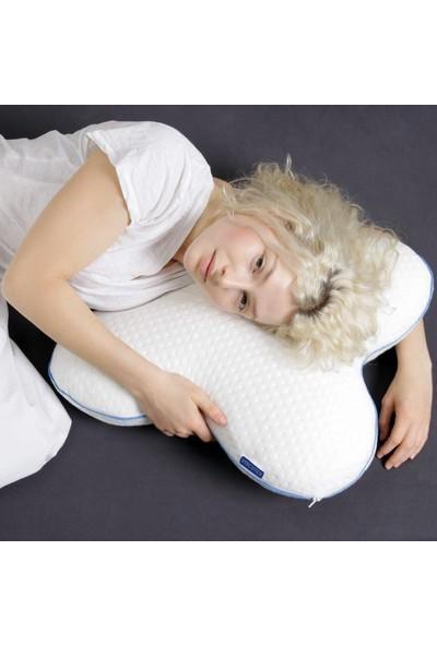 Viscotex Kelebek Yastık 56x48x14 cm / Butterfly Pillow