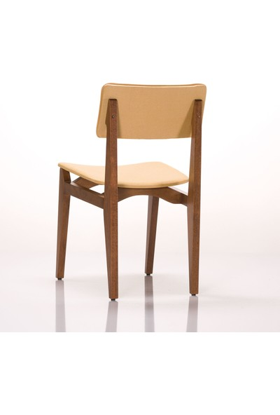 Jeleset Vintage Sandalye Sarı