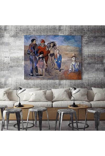 Moda Duvar Pablo Picasso-The Family Of Saltim Banques 1905 70 X70 Cm Rssm-2019018