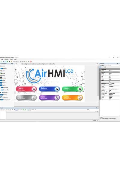 "AirHMI 7"" 800 x 480 TFT LCD"