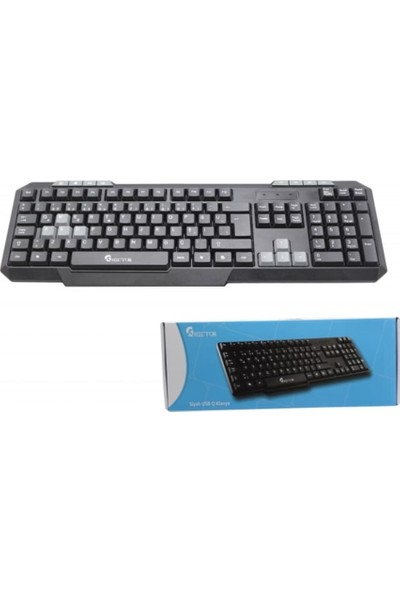 Hector HKB-898 Multimedya USB Q Klavye