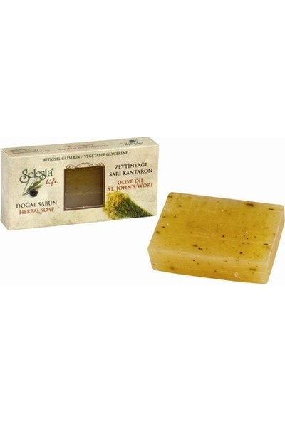 Selesta Life Zeytinyağı&sarı Kantaron Katı Bitkisel Sabun 100gr