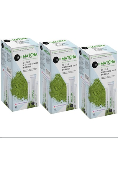 Matcha Çayı Aylık Paket 3 Kutu 60 Sti̇ck