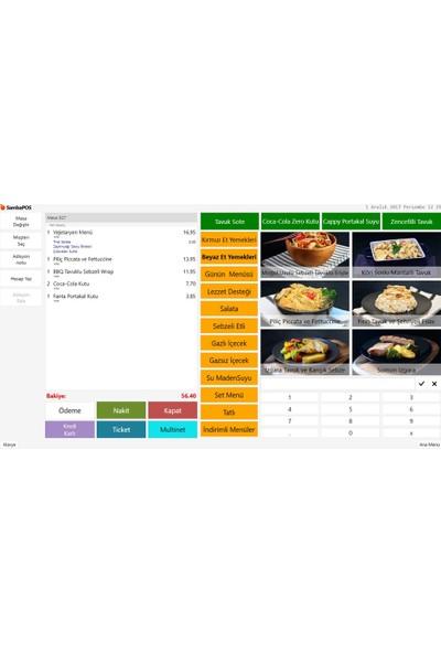 Sambapos V5 Pro Cafe Restoran Adisyon Yazılım Lisansı
