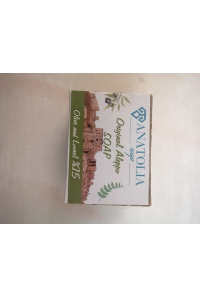 Anatolia Soap Halep Sabunu %15