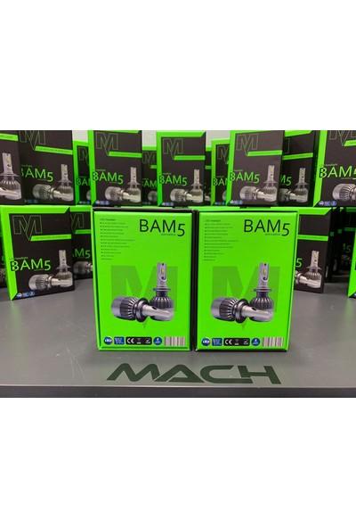 Appcity Mach Bam5 Pro H11 Led Xenon Şimşek Etkili Beyaz - 6400 Lm 6000K