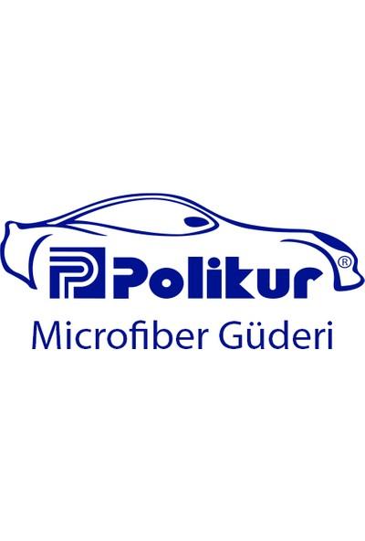 Polikur Mikrofiber Güderi Hardal 3219 Oto Kurulama Ve Temizlik Bezi 54 x 68 cm
