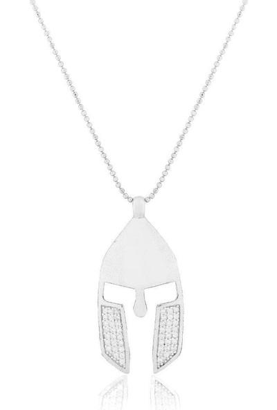 Söğütlü Silver ENT-SGTL3690 Uzun Zincirli Miğfer Kolye