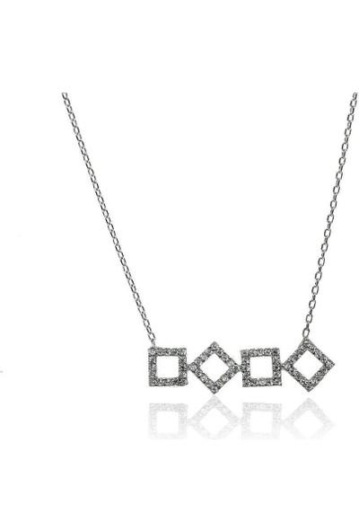 Söğütlü Silver ENT-SGTL6032 Prizma Kolye