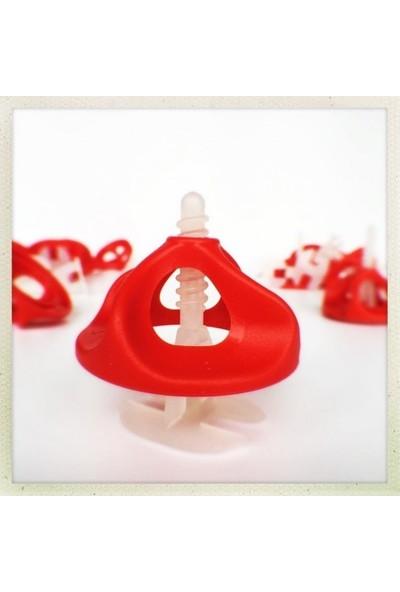 Made Twister Seviye Tespit Derz Artısı No.2 Seramik Tutucu Vidalı Sistem 1 Paket ( 100 Adet )