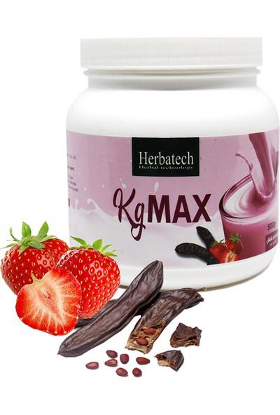 Herbatech kg Max Çilekli Bitkisel Karışımlı Toz 500 gr