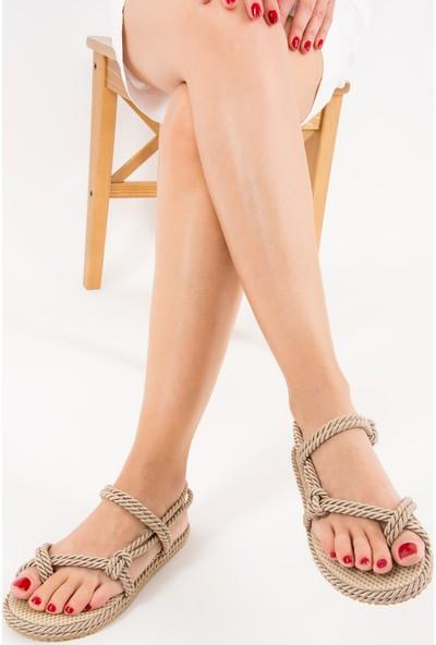 Fox Shoes Ten Kadın Sandalet F838243604