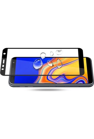 Cepaksesuarcim Samsung Galaxy J6 Plus Tam Kaplayan 5D Ekran Koruyucu Cam