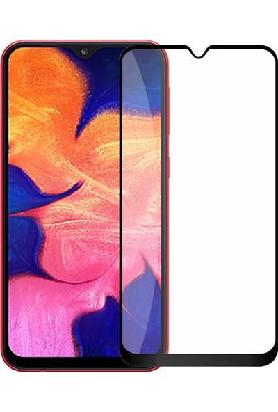 Cepaksesuarcim Samsung Galaxy A10 Tam Kaplayan 5D Ekran Koruyucu Cam