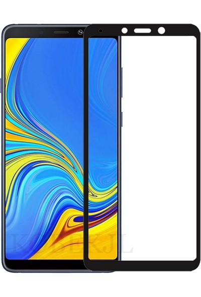 Cepaksesuarcim Samsung Galaxy A9 2018 Tam Kaplayan 5D Ekran Koruyucu Cam