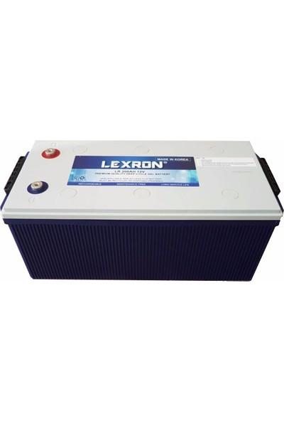 Lexron 12 Volt 200 Amper Jel Aküderin Döngü