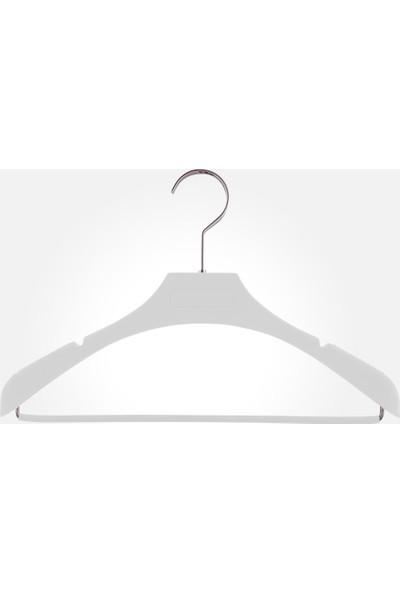 Akal Batu Abas Soft Touch Kaplamalı Barlı Elbise Askısı