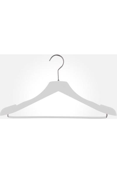 Akal Batu Bps Soft Touch Kaplamalı Barlı Elbise Askısı